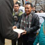 インドネシア・西ジャワ州チレボンおよびインドラマユ石炭火力発電所への 融資拒否を求める国際要請書(47ヶ国280団体署名)を提出