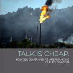【報告書】「G20の化石燃料政策における言動不一致(原題:Talk is Cheap)」発表のご案内