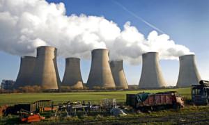 英国の石炭発電所