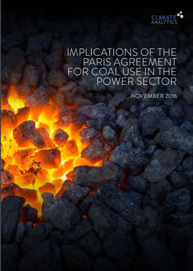 climateanalytics report 2016
