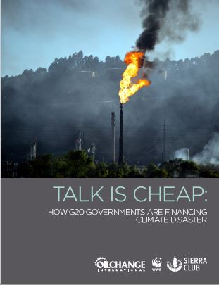 【Report】Talk is Cheap: How G20 Governments are Financing Climate Disaster